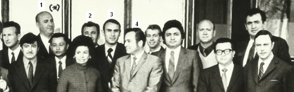Prof. Dr. Georgia Velkov, Prof. Dr. Trifun Paskalov, Polat Gülkan, Semih Tezcan